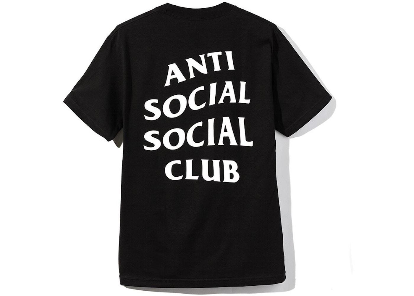 Anti Social Social Club Logo 2 Tee (FW19) Black - FW19