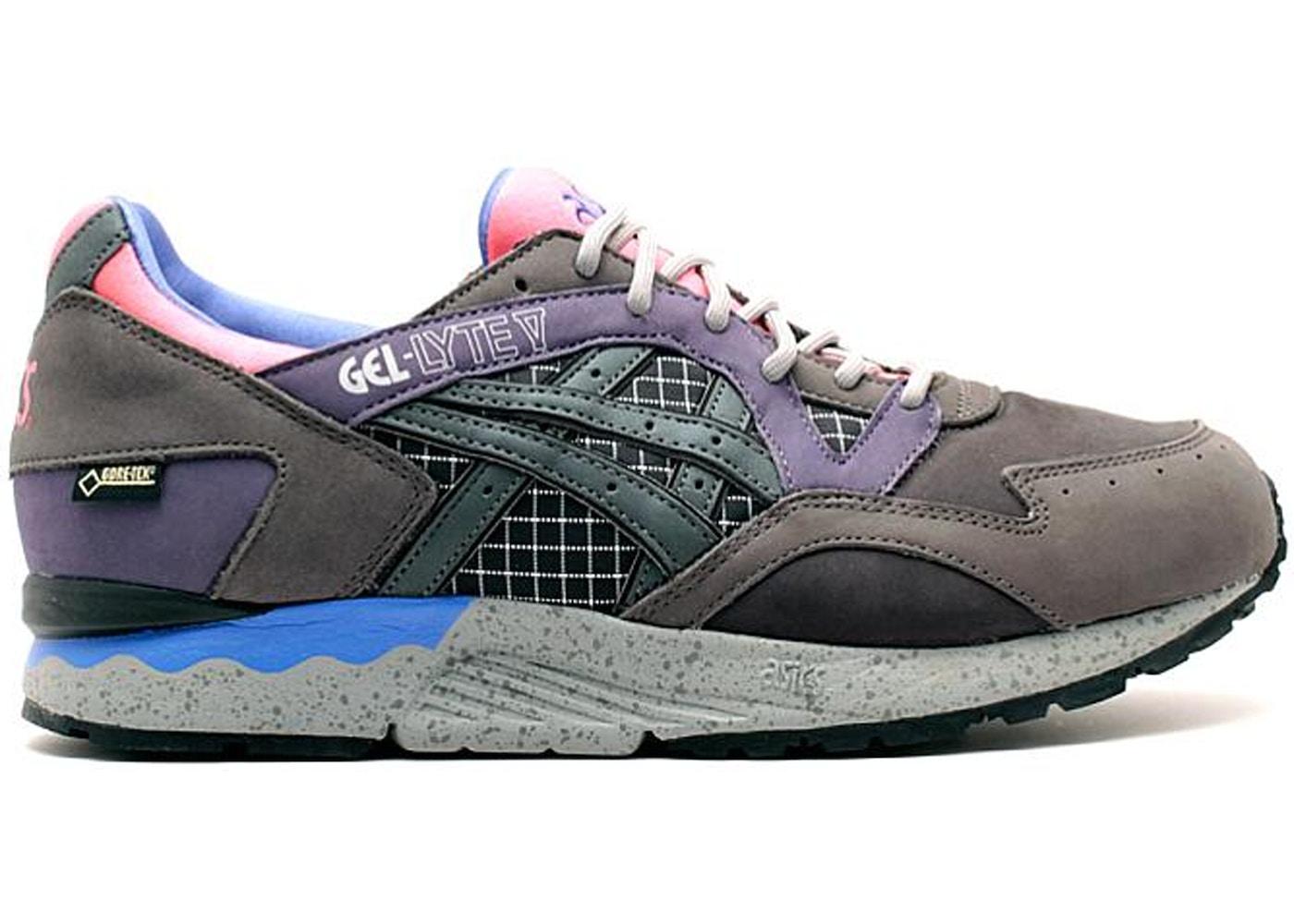 ASICS Gel-Lyte V Packer Shoes x Gore-tex Charcoal