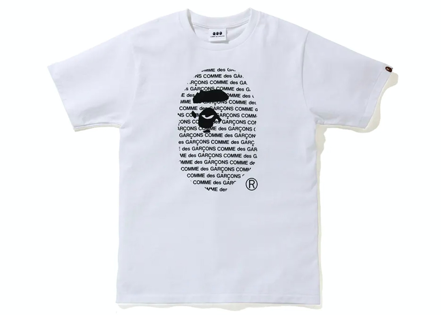CDG OSAKA × BAPE TEE #2 COMME des GARCONS A BATHING APE T-Shirt Top