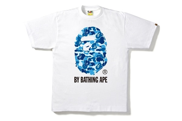 AUTHENTIC A BATHING APE BAPE ABC CAMO BOX TEE T SHIRT WHITE M L 2XL NEW SALE