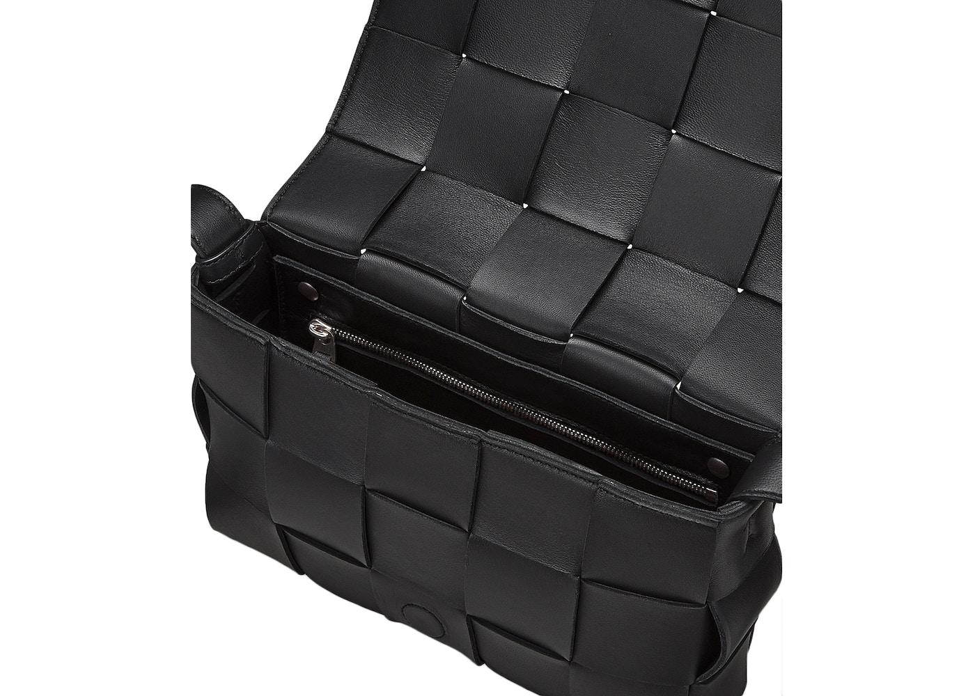 Bottega Veneta Cassette Shoulder Bag In Black | ModeSens