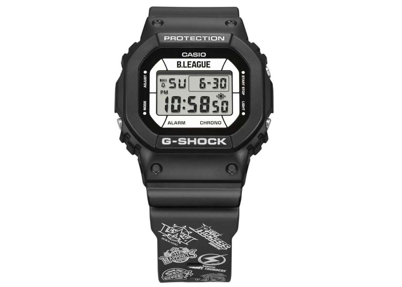 Casio G-Shock x B.League DW-5600BLG21-1JR - 43mm in Resin