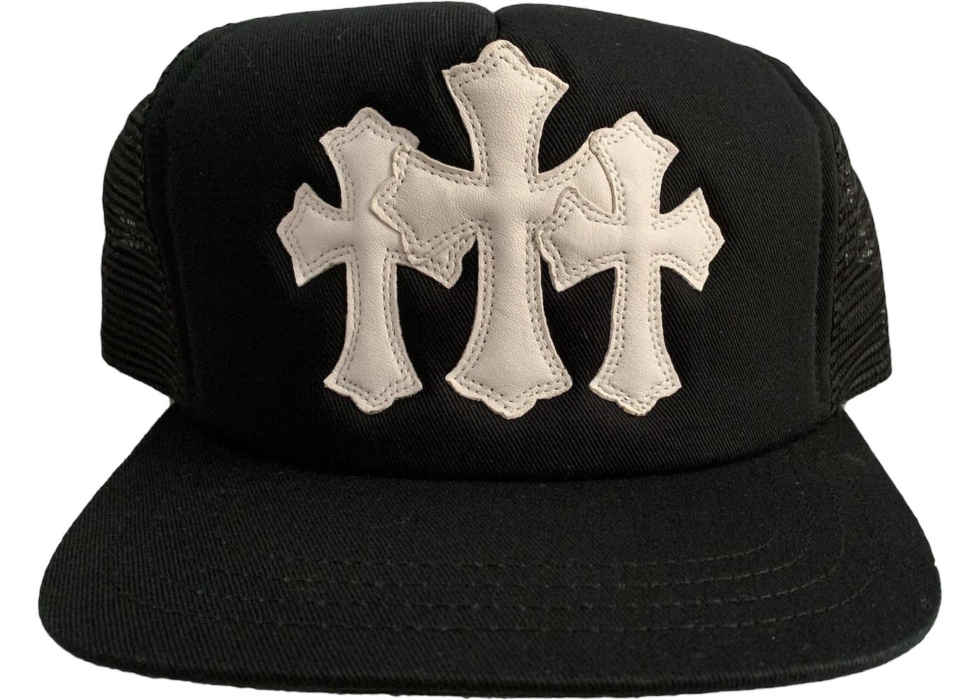 Chrome Hearts Cemetery Trucker Hat Black