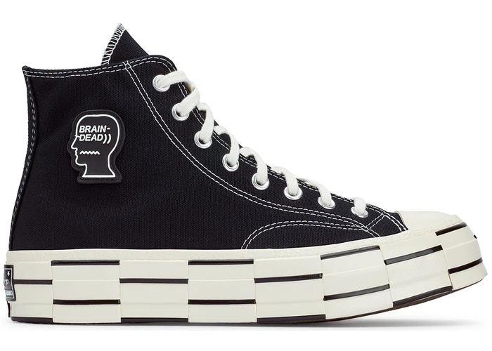 Converse Chuck Taylor All-Star 70s Hi Brain Dead Black