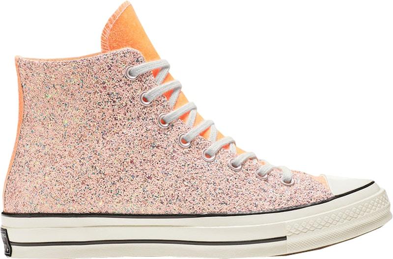 Converse Chuck Taylor All-Star 70s Hi JW Anderson Glitter Pink Orange