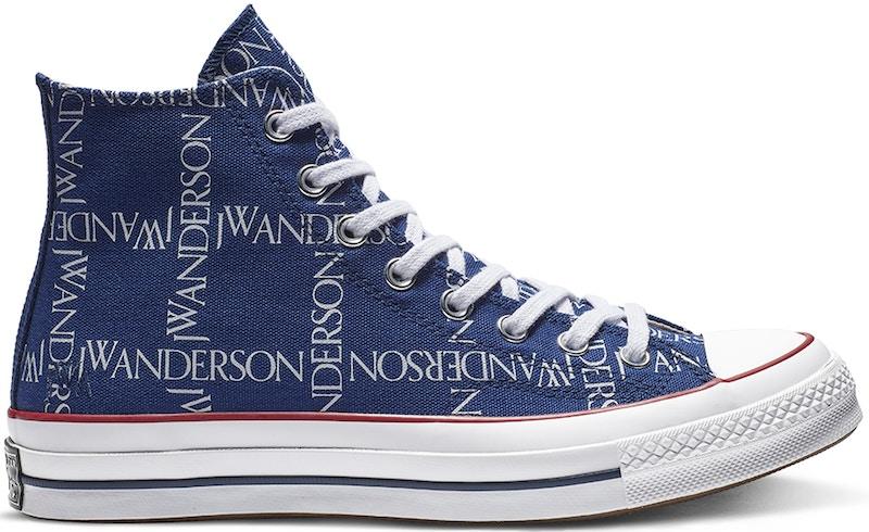 Converse Chuck Taylor All-Star 70s Hi JW Anderson Repeat Print Twilight Blue