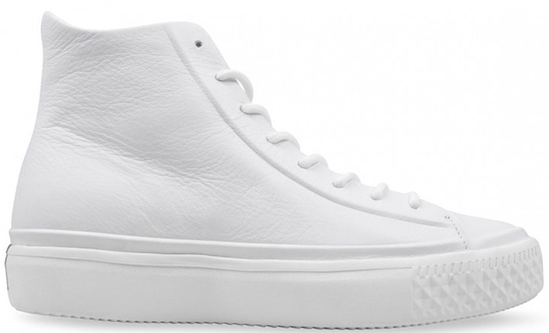 Converse Chuck Taylor All-Star Modern Lux High White Leather ...