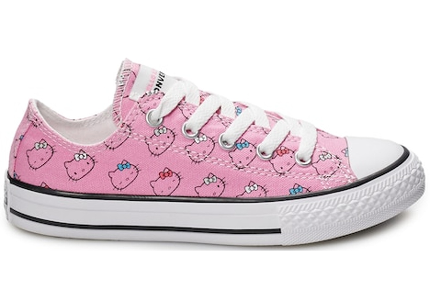 Converse Chuck Taylor All-Star Ox Hello Kitty Pink (PS) - 664638F