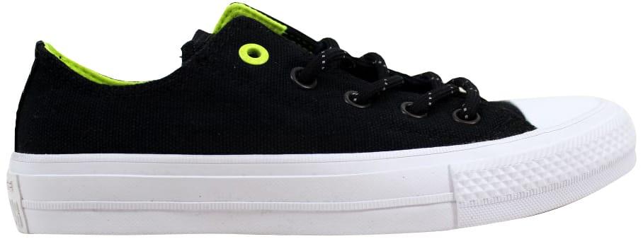 Converse Chuck Taylor II 2 OX Black/Volt - 153541C
