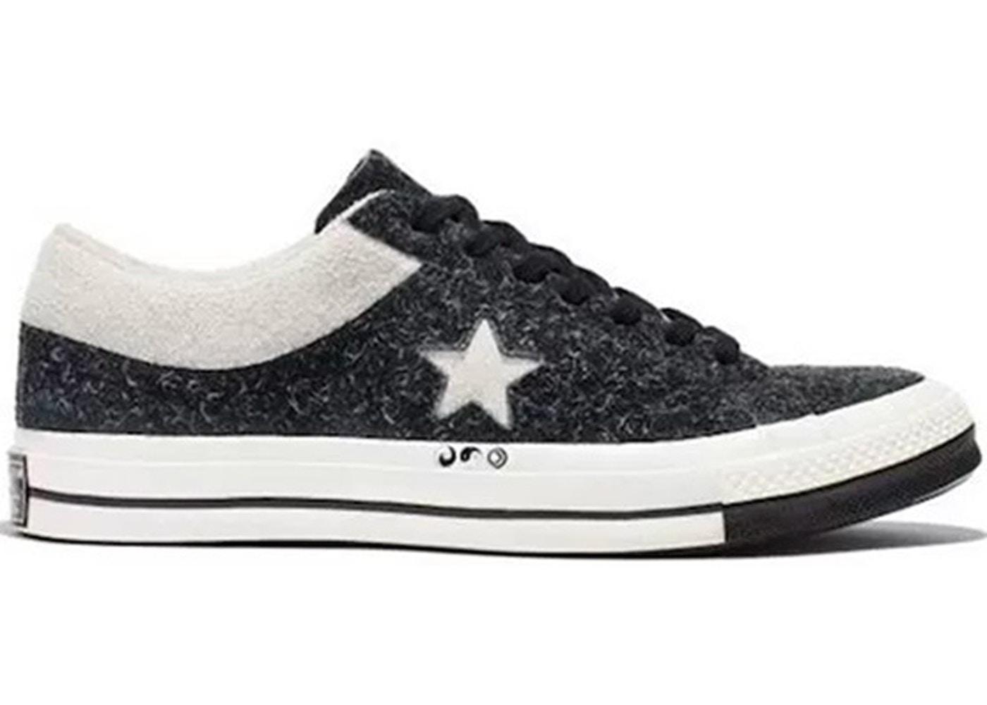 Converse One Star Ox CLOT Black White - 159248C