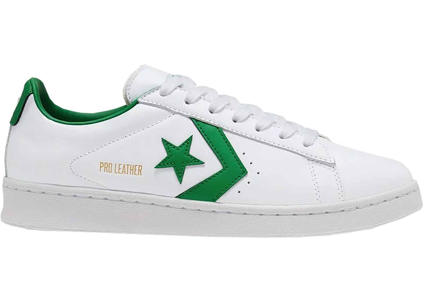 Converse Pro Leather Ox White Green - 167971C