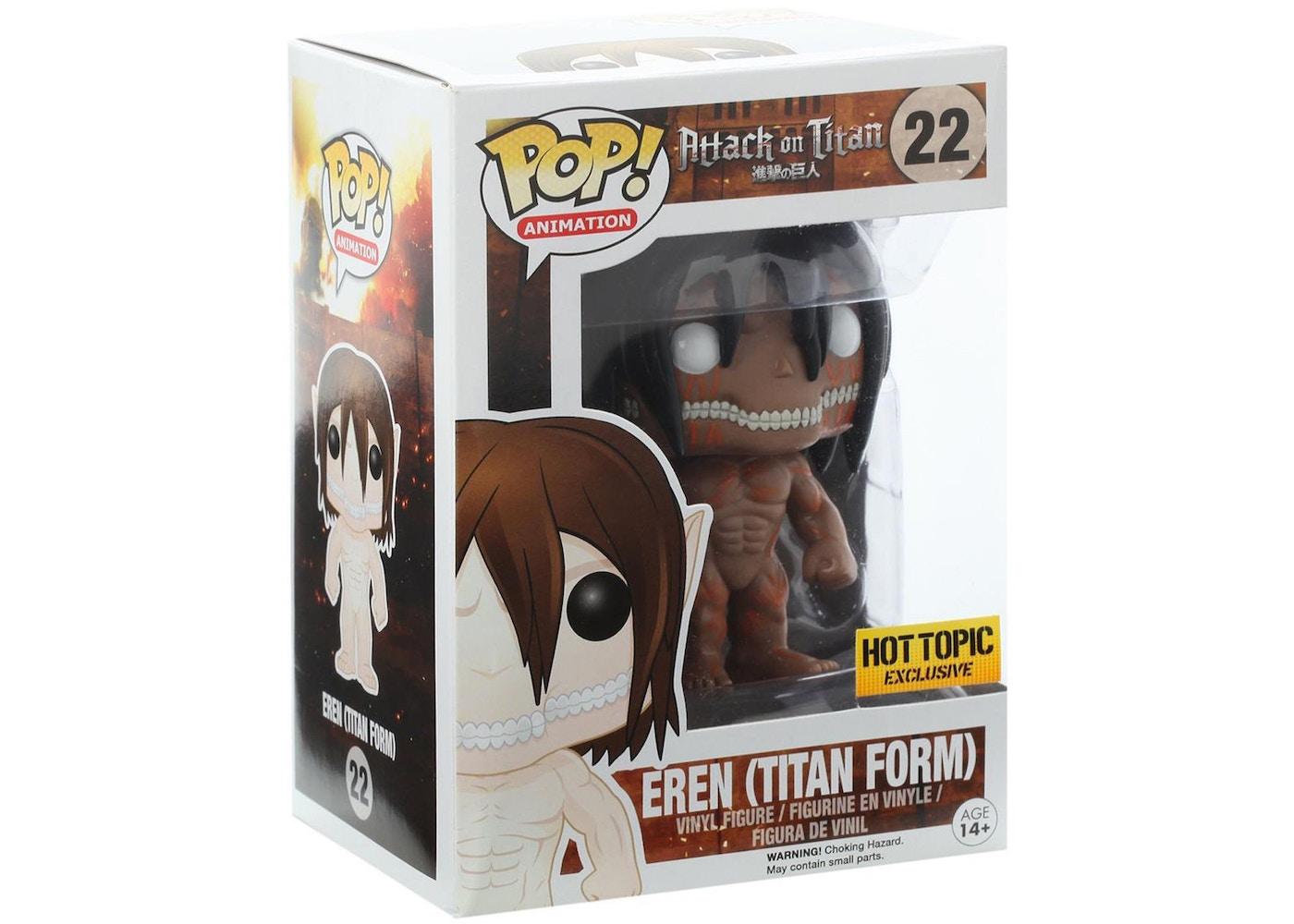 Funko Pop! Animationo Attack on Titan Eren (Titan Form ...
