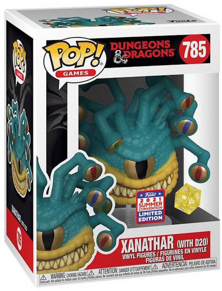 Funko Pop! Games Dungeons & Dragons Xanathar (With D20 ...
