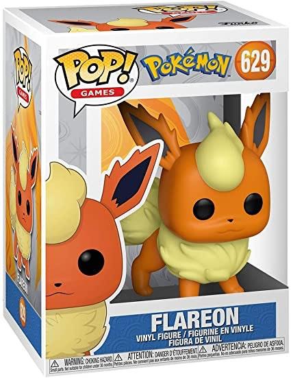 Vinyl Figure-POKEMON Série-POP Games-Vendeur Britannique Flareon #629 FUNKO POP