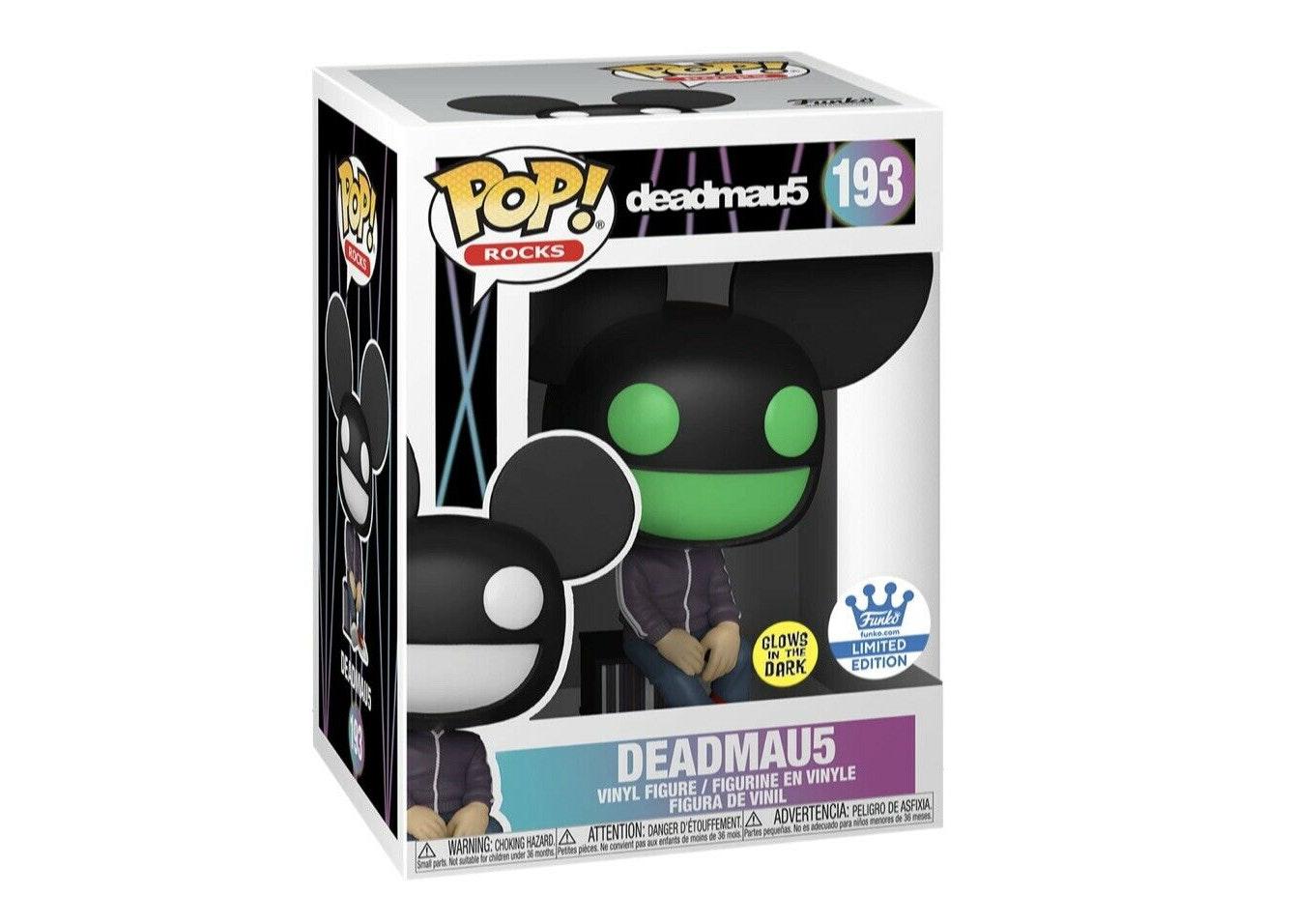Deadmau5 Figure Funko Pop Rocks