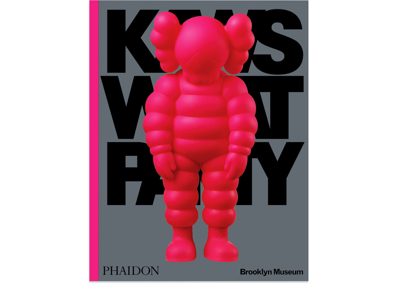 KAWS What Party Hard Cover Book Pink