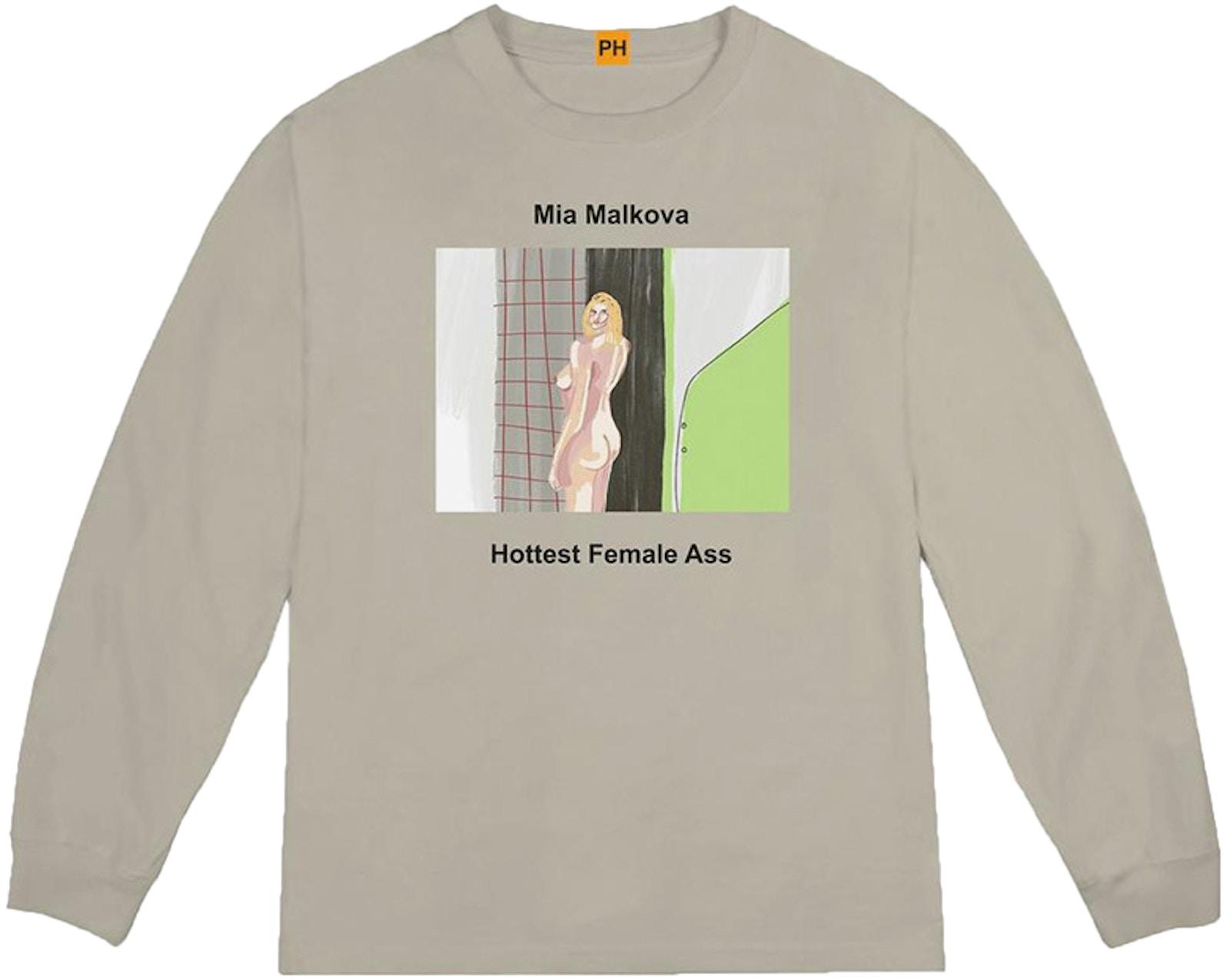 Kanye West Pornhub Mia Malkova L/S Tee Vapor - FW18