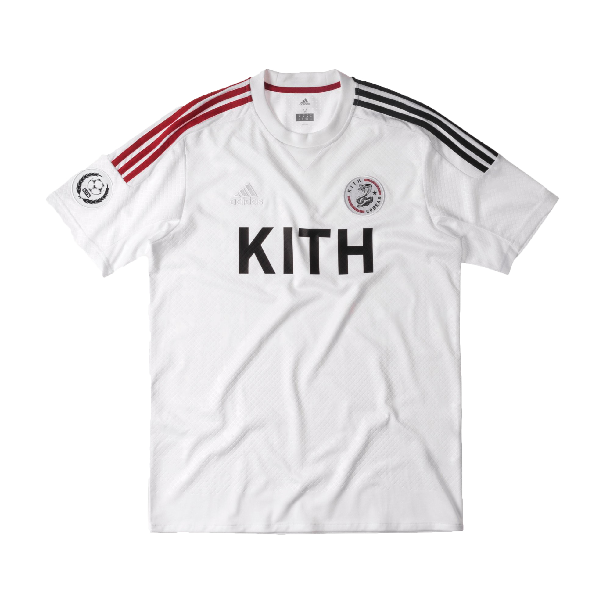 Kith adidas Soccer Cobras Home Game Jersey White - SS17