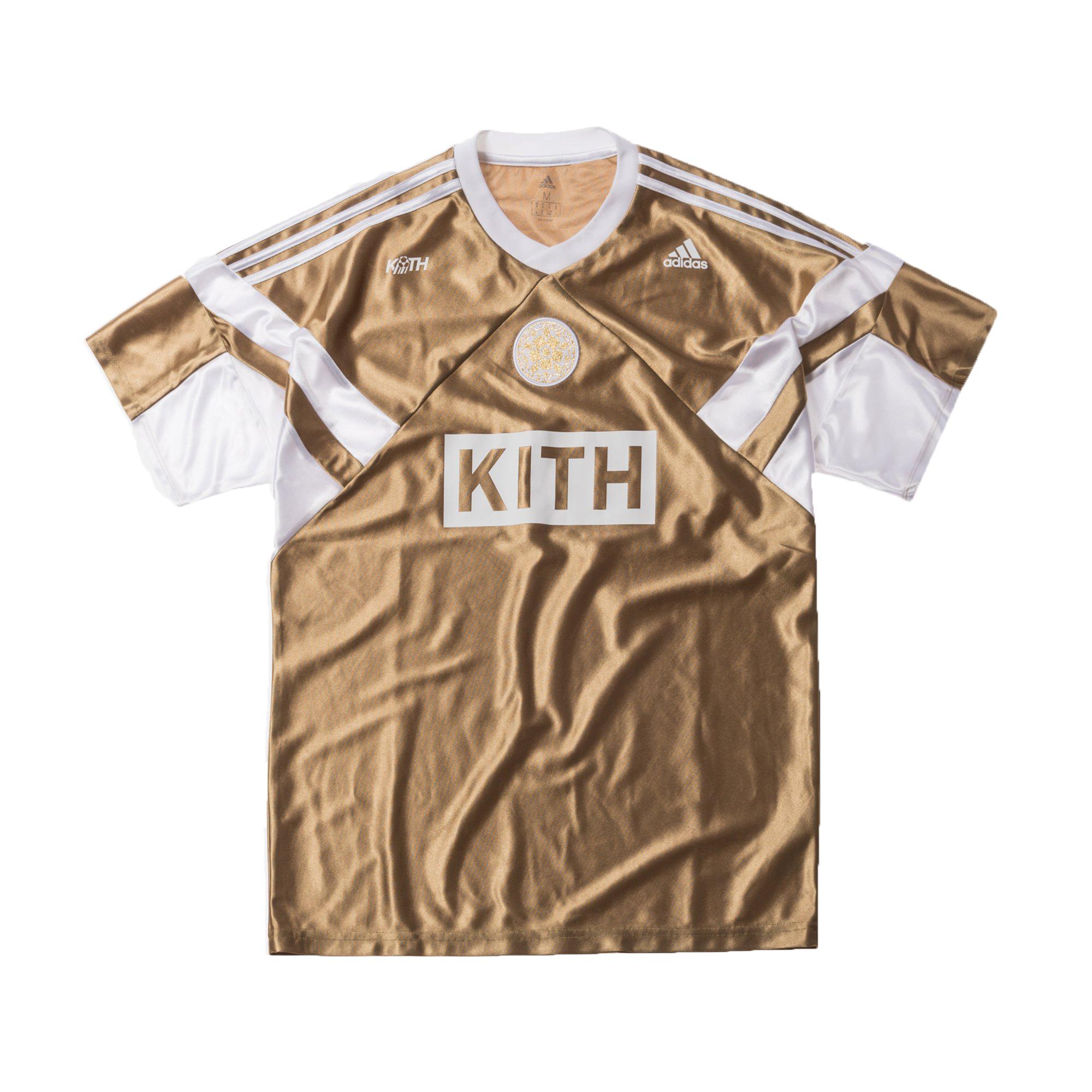 Kith x adidas Match Jersey Rays Away