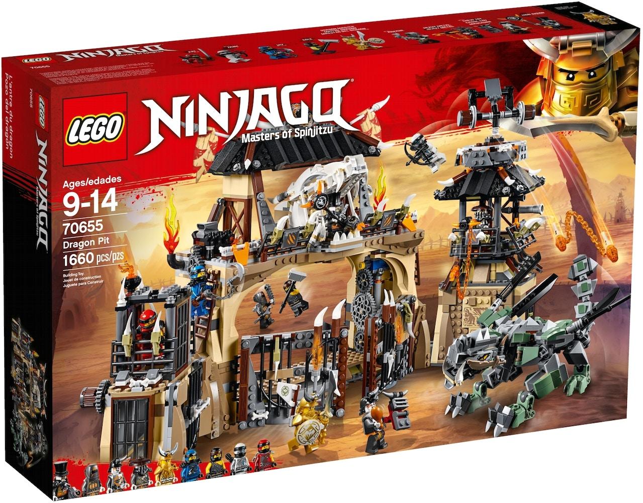 LEGO Ninjago Dragon Pit Set 70655 -