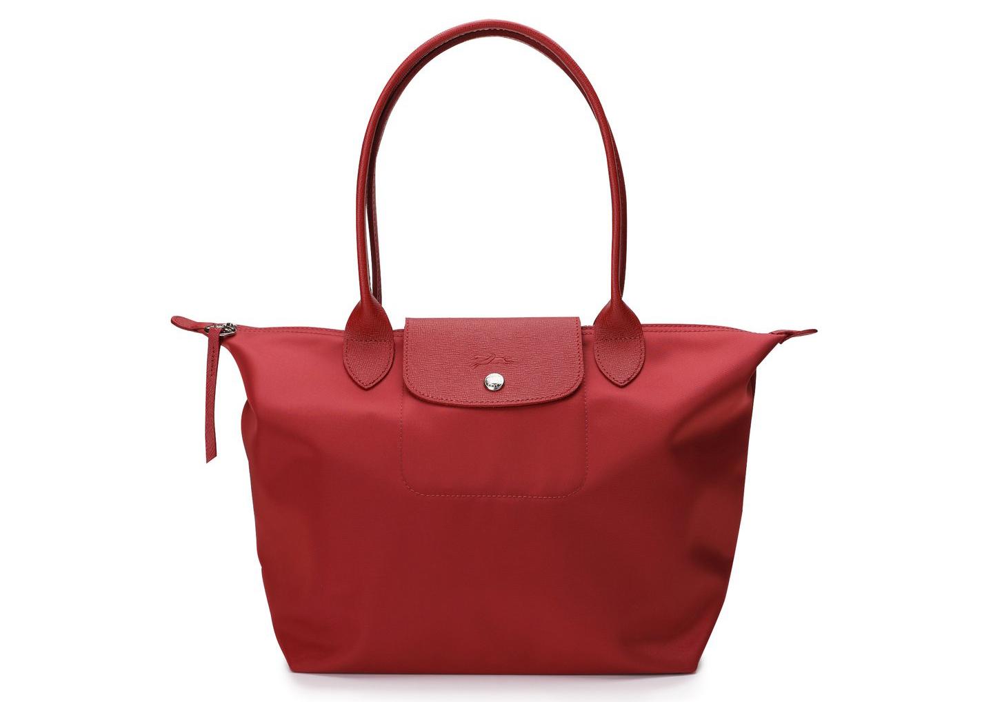 Longchamp Le Pliage Club Neo Tote Bag S Red