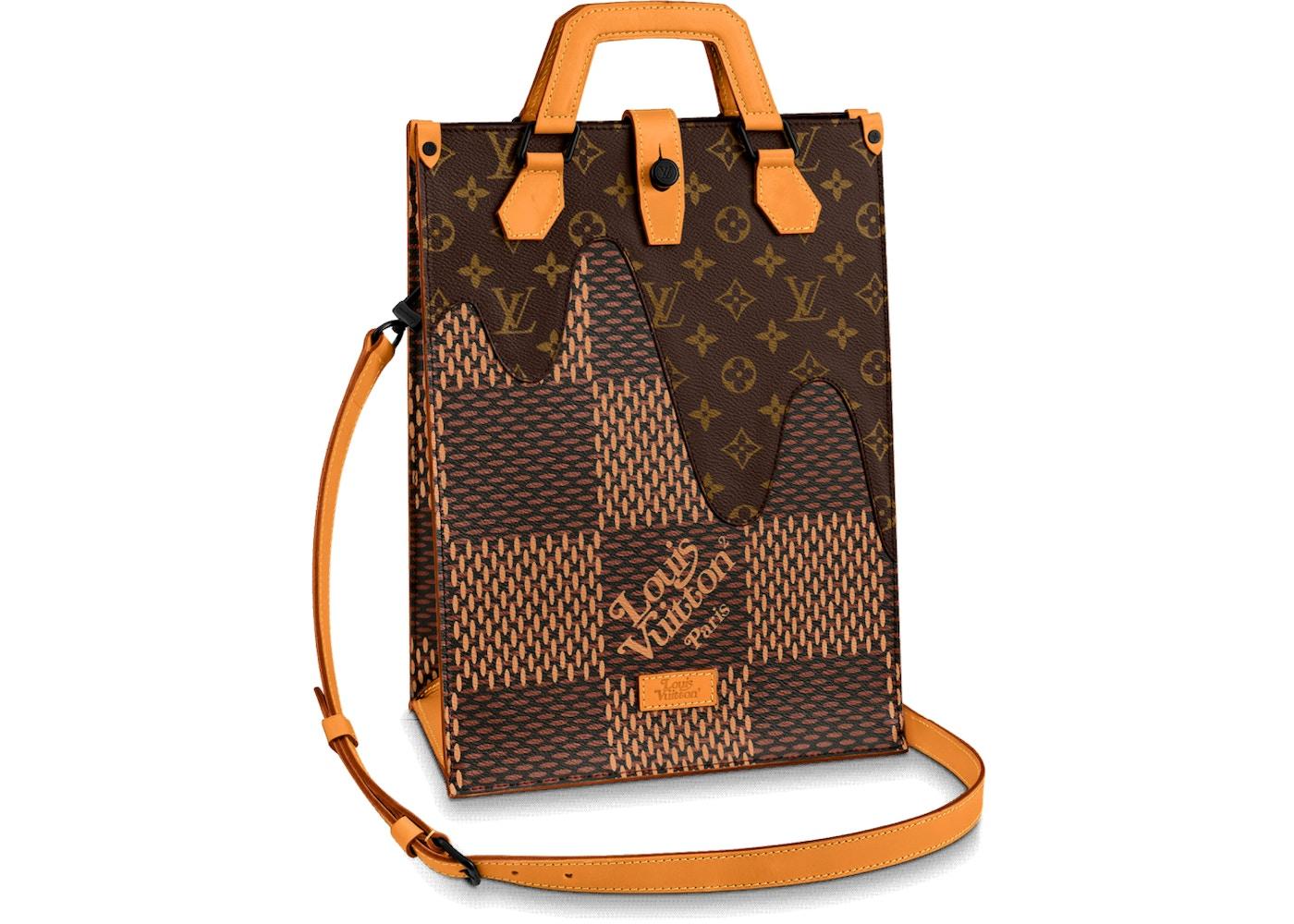 Louis Vuitton x Nigo Tote Damier Ebene Giant Mini Brown