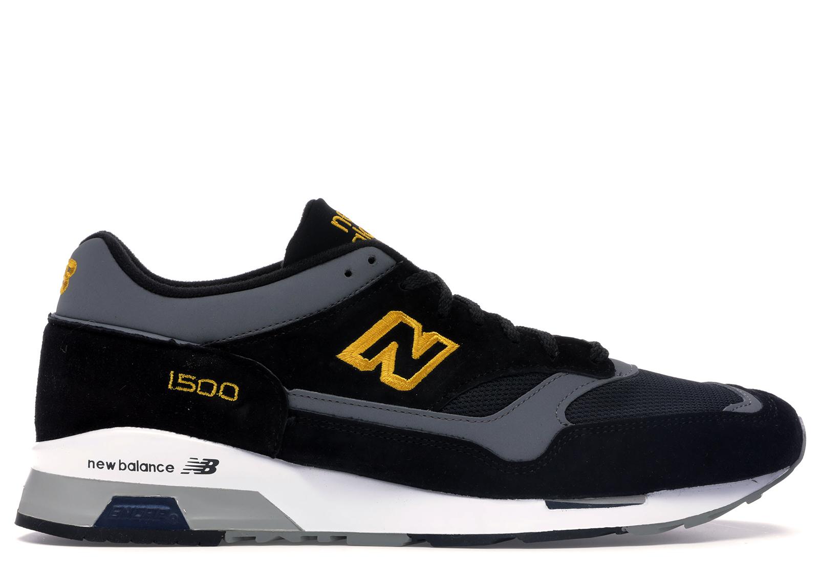 New Balance 1500 Black Yellow - M1500BY