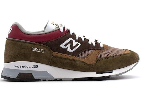New Balance 1500 Brown Burgundy - M1500GBG
