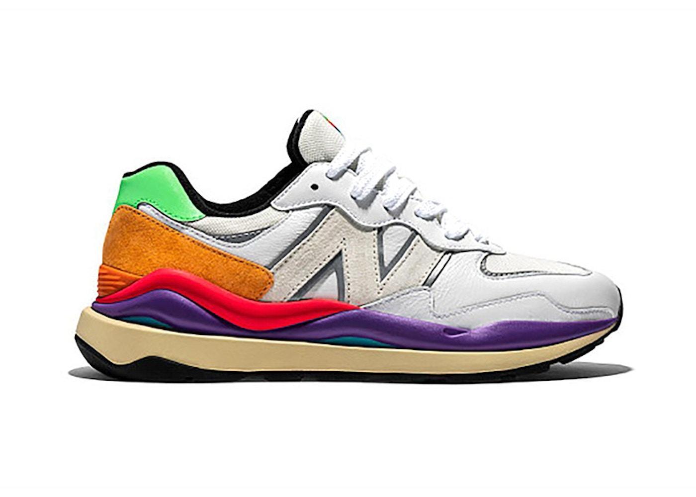 New Balance 57/40 White Multicolor