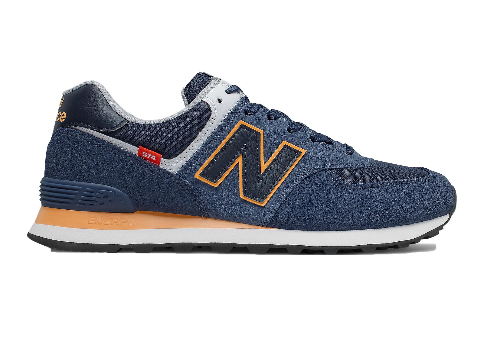 New Balance 574 Natural Indigo