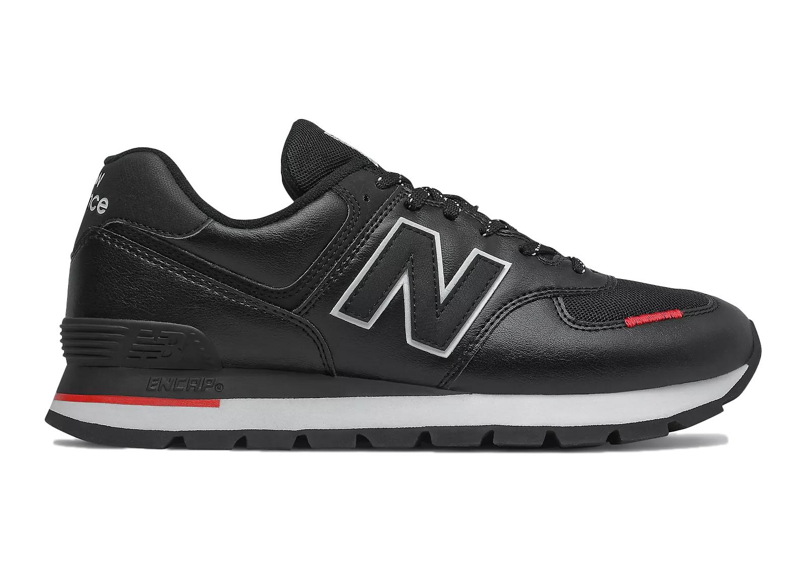 New Balance 574 Rugged Black