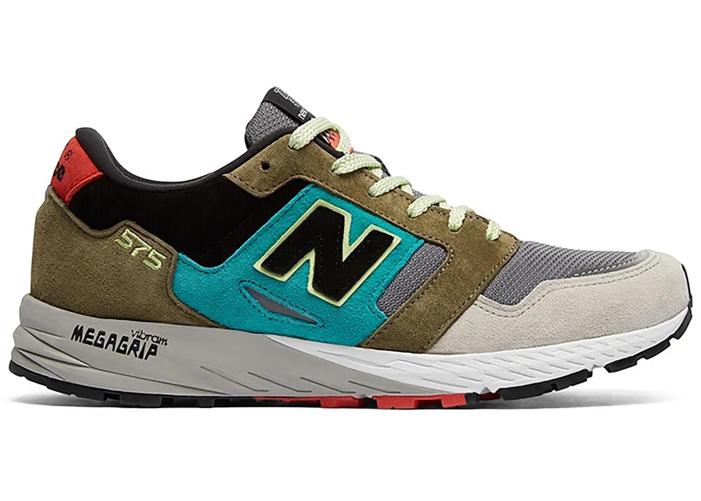 New Balance 575 Grey Green Black