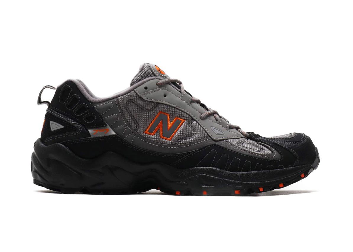 New Balance 703 Black Grey Orange -