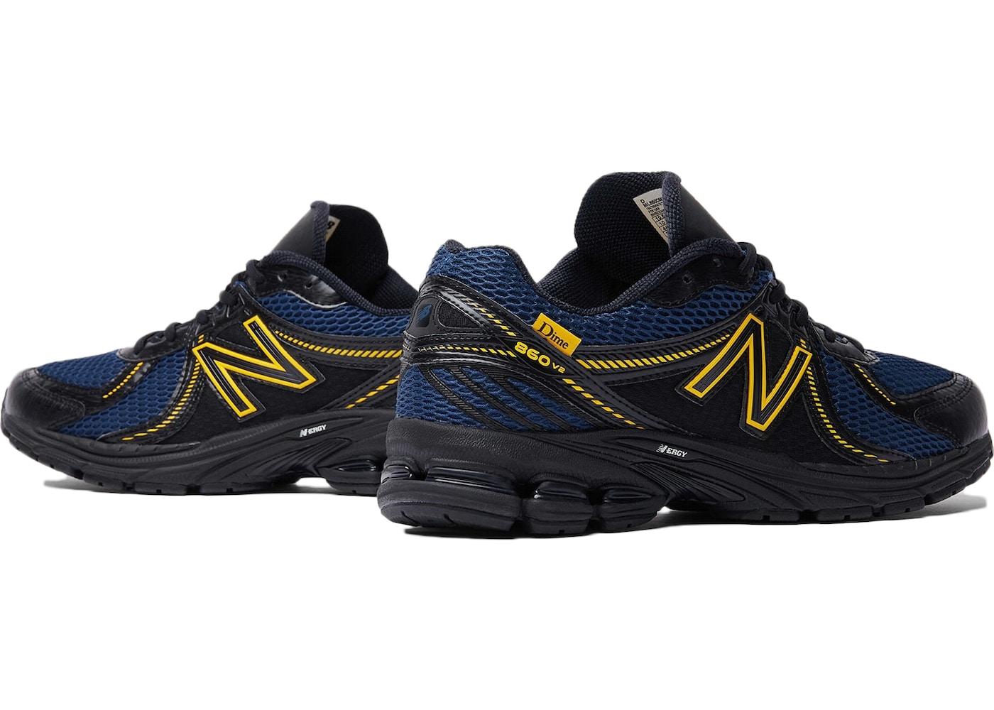 New Balance 860 V2 Dime Black