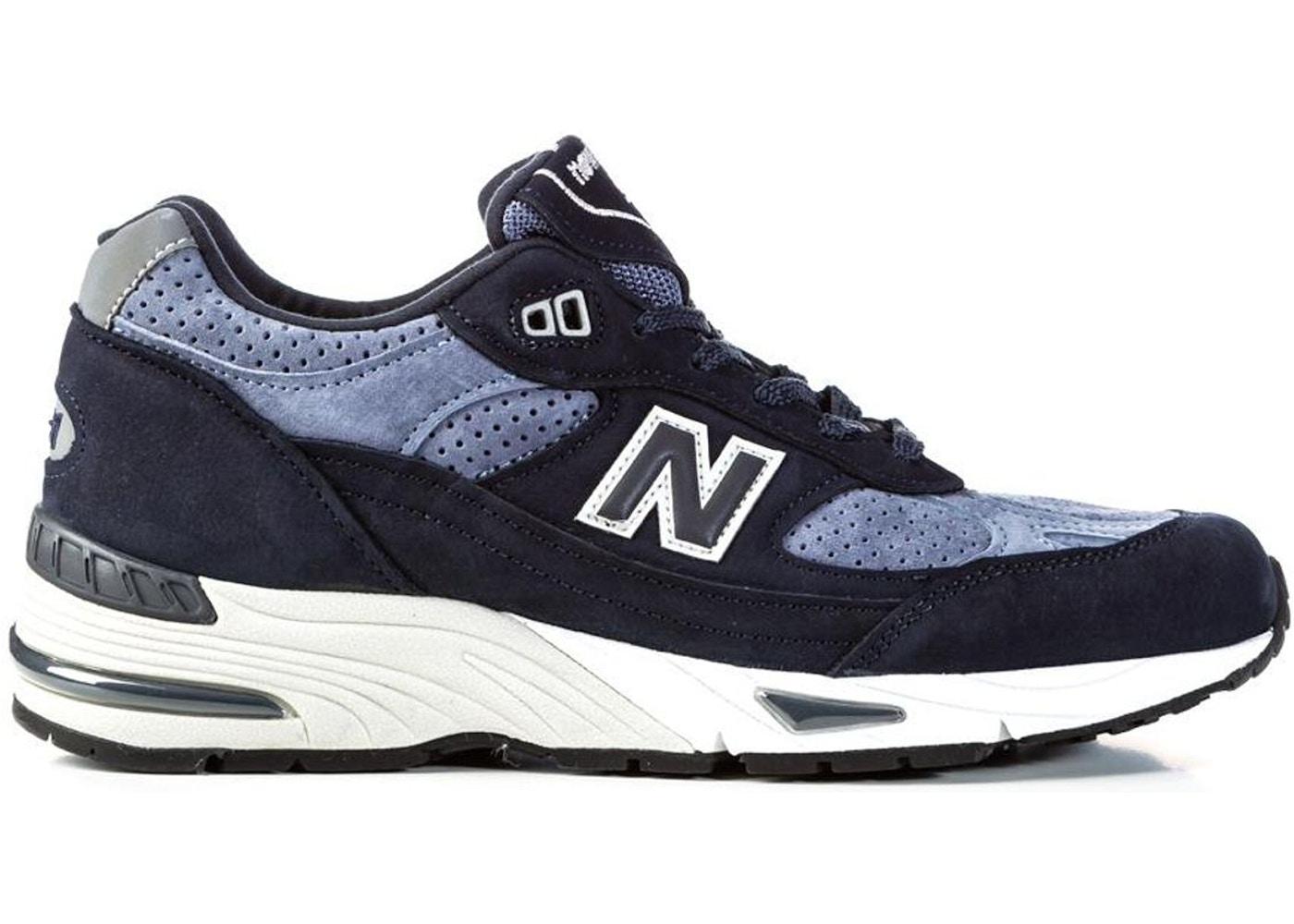 New Balance 991 Navy Grey