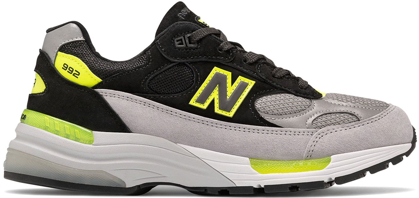 new balance grey black