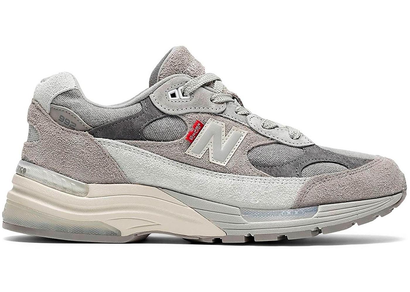 New Balance 992 Levi's Grey