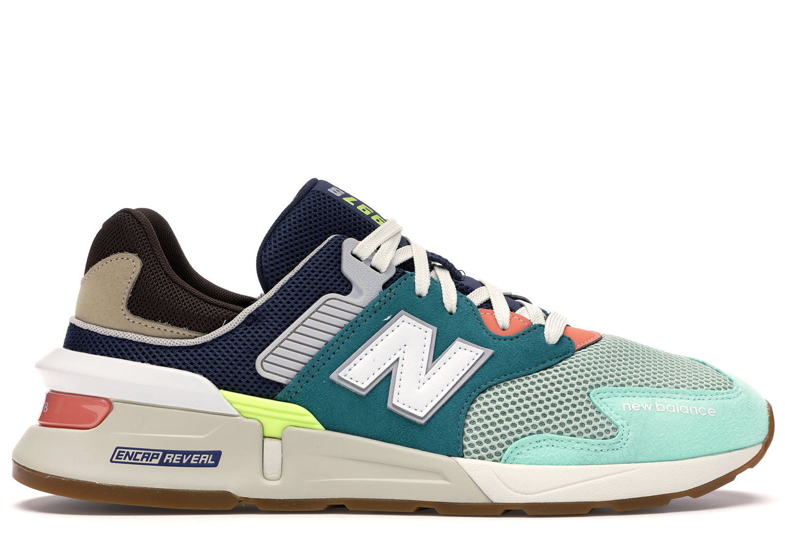 New Balance 997 Sport Teal Brown - MS997JHY