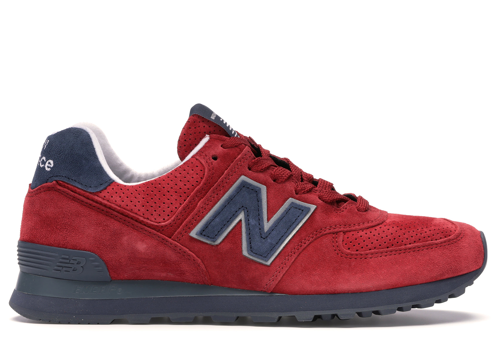 New Balance Classics Traditionnels Gym Red Navy - US574