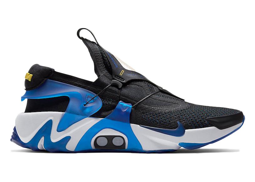 Nike Adapt Huarache Black Racer Blue (US Charger)