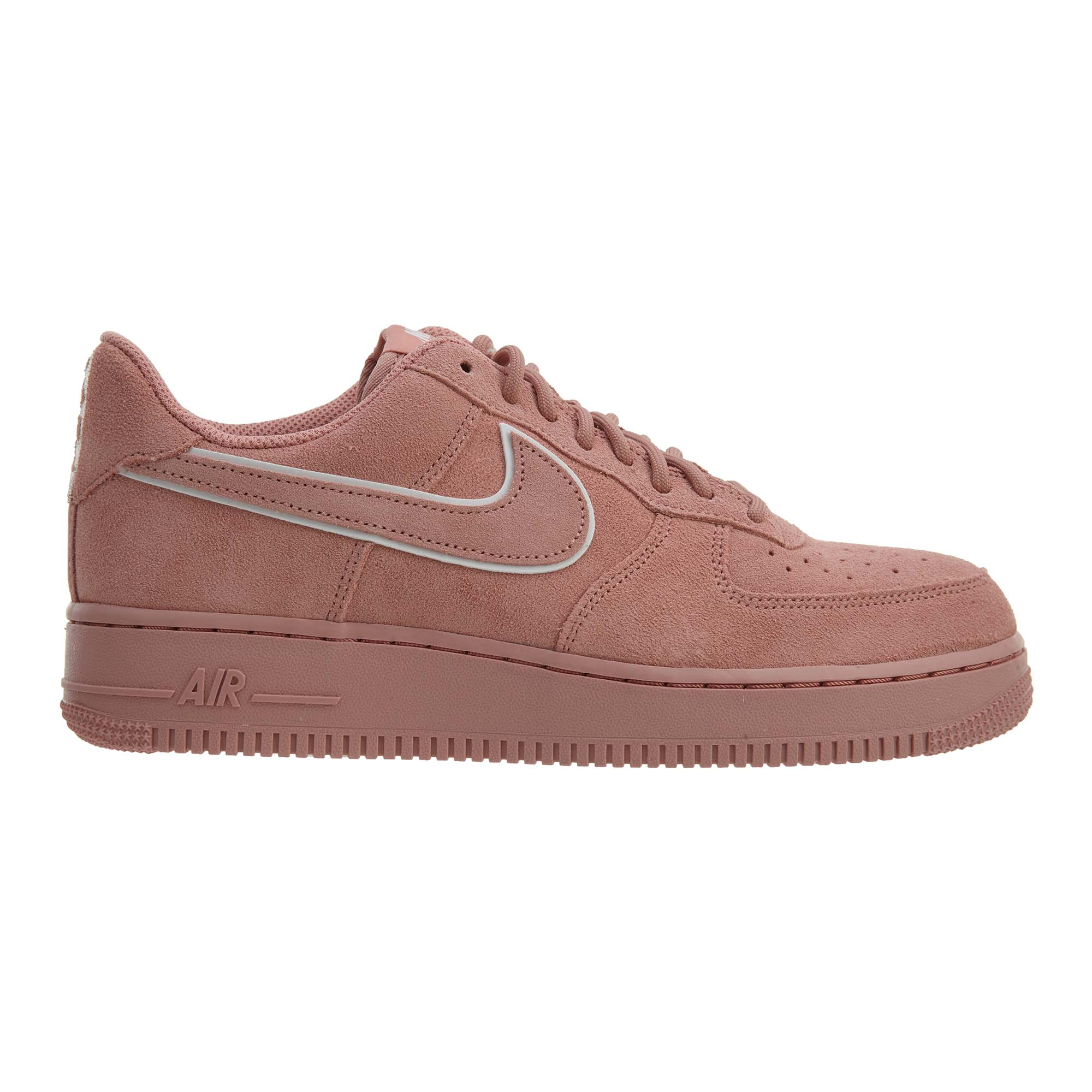 Nike Air Force 1 07 Lv8 Suede Red Stardust Red Stardust - AA1117-601