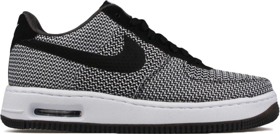 Nike Air Force 1 Elite TXT White Black (W) - 725144-100