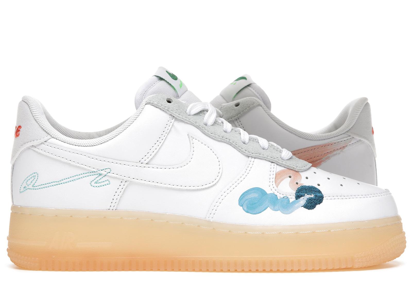 Nike Air Force 1 Flyleather Mayumi Yamase White