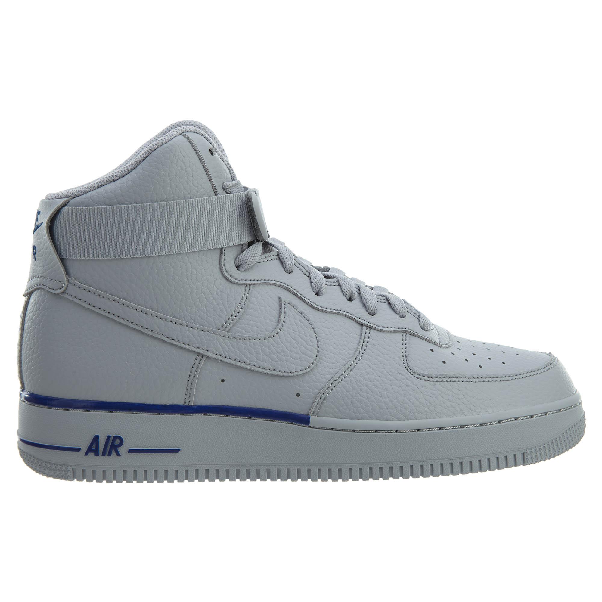 Nike Air Force 1 High 07 Wolf Grey Wolf Grey-Deep Royal - 315121-045