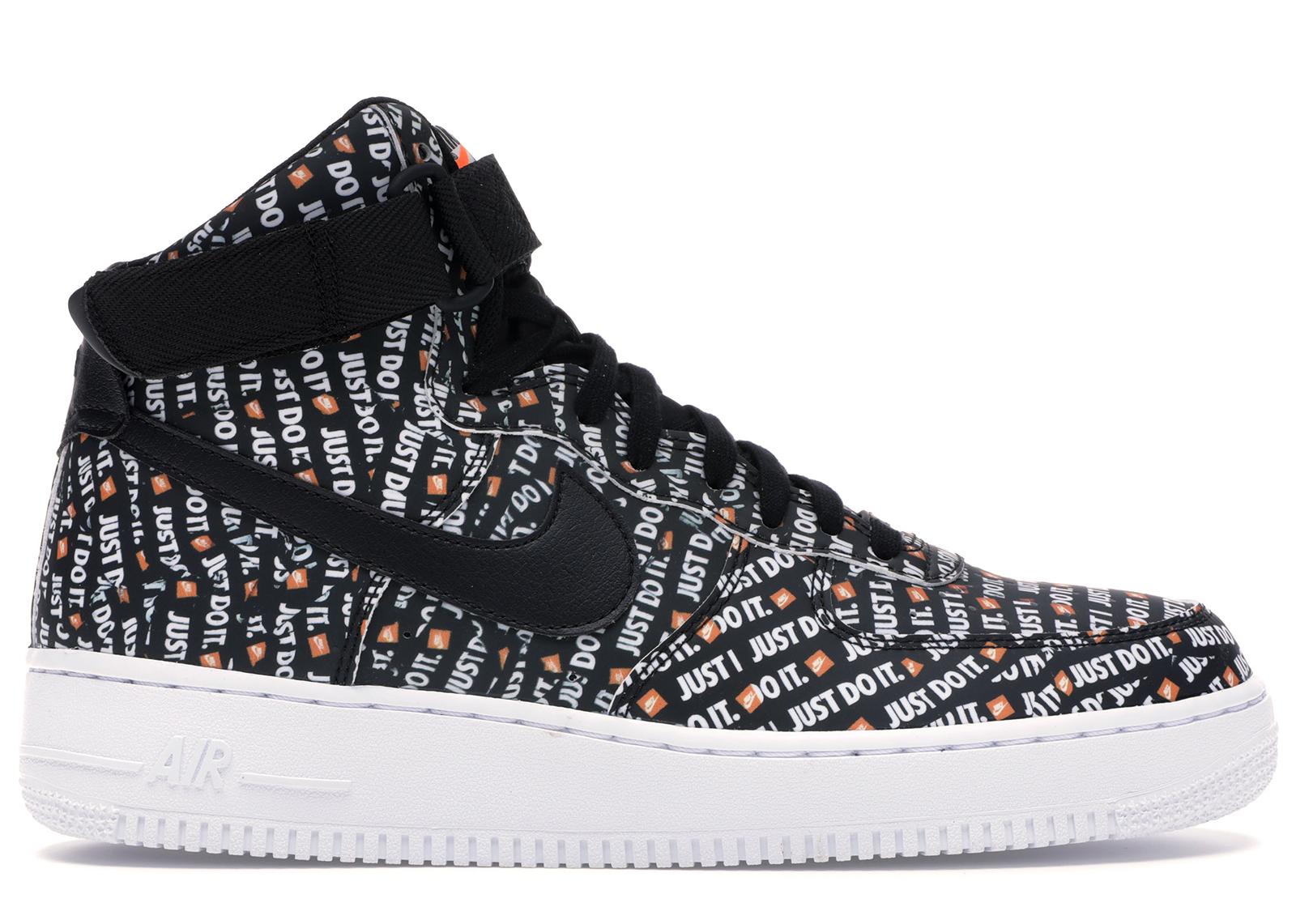 Nike Air Force 1 High Just Do It Pack Black - AQ9648-001