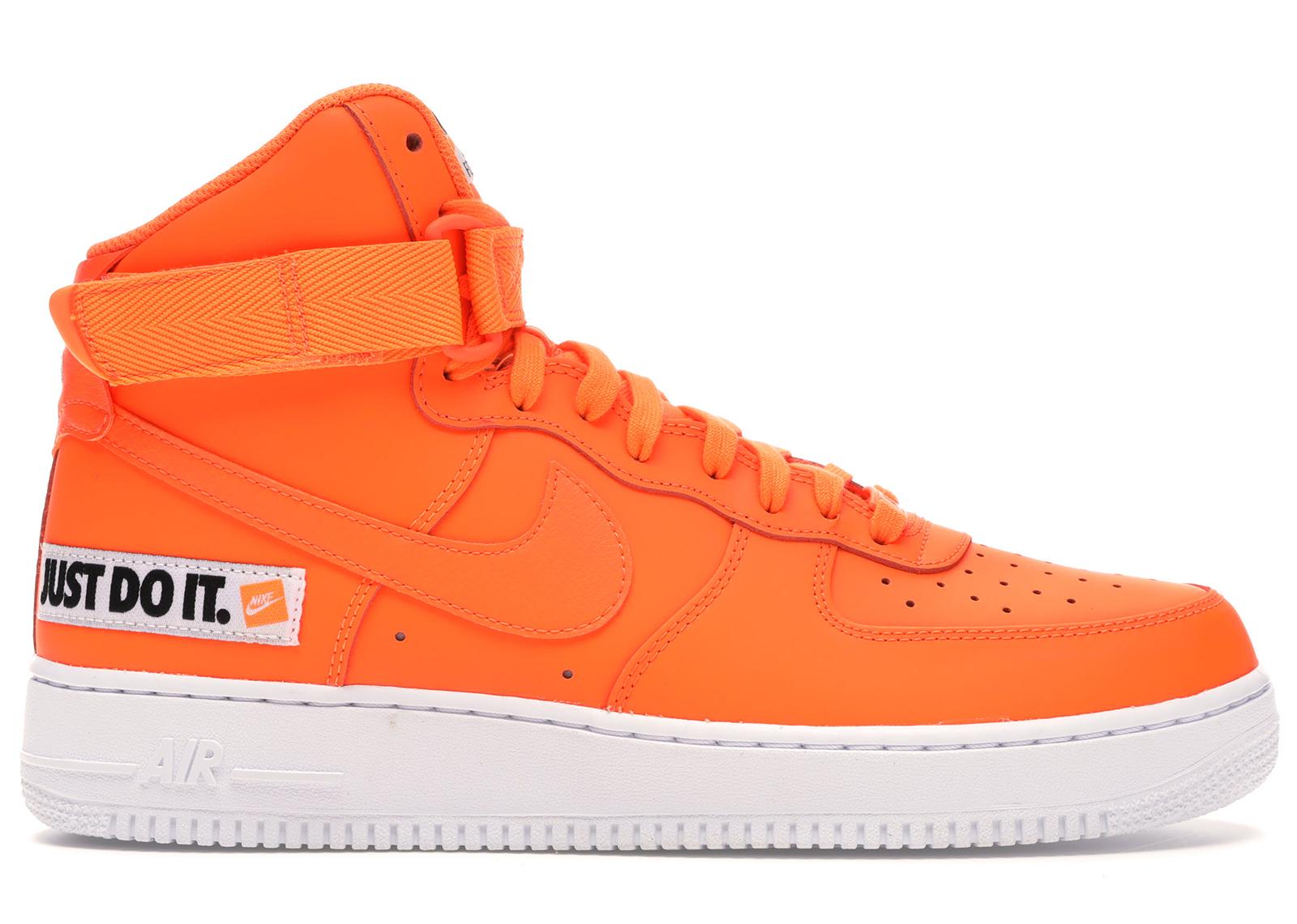 Nike Air Force 1 High Just Do It Pack Orange - BQ6474-800