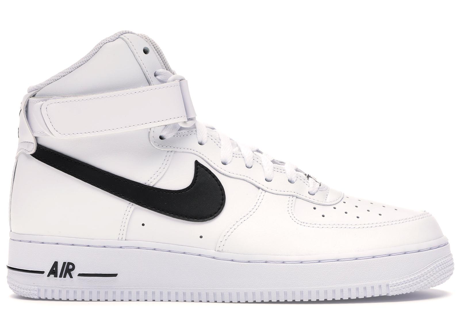 Nike Air Force 1 High White Black - CK4369-100