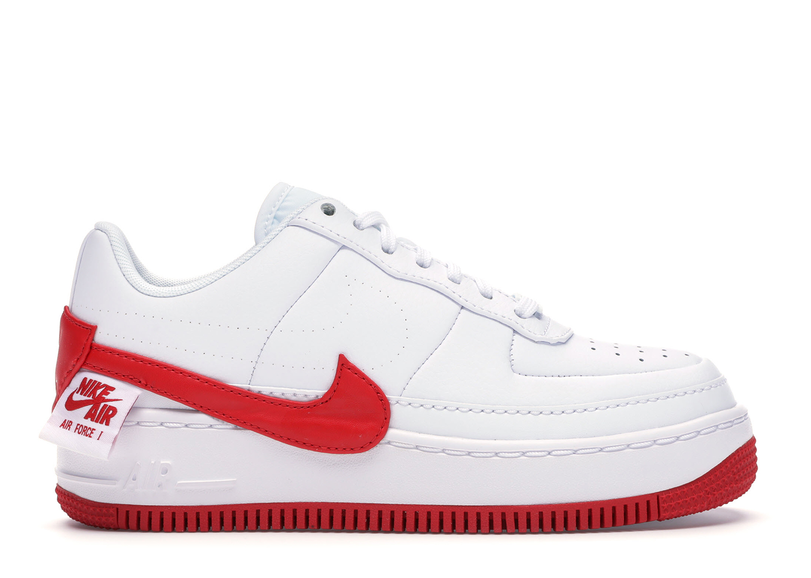 Nike Air Force 1 Jester XX White University Red (W) - AO1220-106