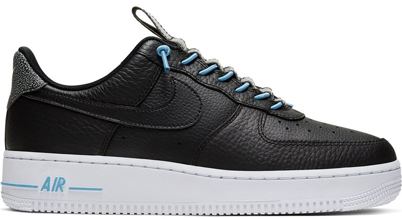 Nike Air Force 1 Low 07 Lux Black Light Blue (W)