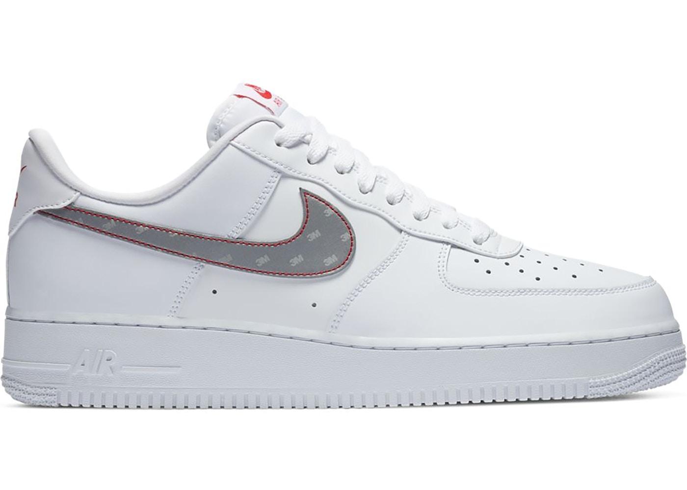 Nike Air Force 1 Low 3M Swoosh White
